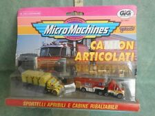 MICRO MACHINES CAMION ARTICOLATI TRUCK  TOY VINTAGE  GIG