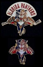 Lot/Set of 2 Florida Panthers Pin~NHL~broken stick~cutout~National Hockey League