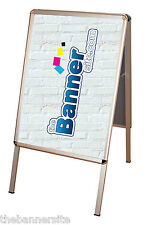 A-Board Pavement Shop Sign, Poster Display Stand, A0 Size