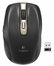 Logitech Wireless Anywhere Black Mouse MX With Unifying Receiver