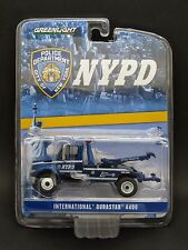 Greenlight 1/64 International Durastar 4400 Tow Truck _ NYPD