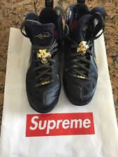 Lebron 9 P.S. Elite AWAY Black & Gold