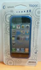 Splash VAPOR Slim Fit Flex Case for iPhone 5, Screen Protector Included (BLUE)
