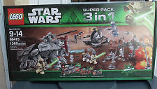 Lego - Star Wars - 3 in 1 Super Pack No. 66473 -  New in Sealed Box