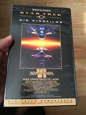 Star Trek VI Das Unentdeckte Land VHS 113 Minuten Fassung