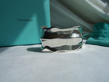 """TIFFANY & CO. 925 WIDE """"NATURE"""" COLLECTION LEAF CUFF!!!"""
