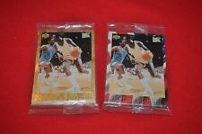 2 Micheal Jordan Ball Park Franks 1996 Upper Deck 5 Card Set Sealed- 1 Gold Foil