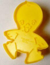 """Wilton Yellow Baby Duck Bird 3 3/4"""" Cookie Cutter Art Mold"""