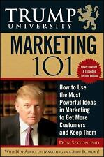 MARKETING 101: DONALD TRUMP UNIVERSITY WEALTH Real Estate Online Market Business