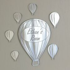 Hot Air Balloon Personalised Door Name Plaque Boy Girls Bed Room Sign Christmas