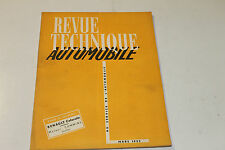 revue technique automobile mars 1953 renault colorale moteur cummins en tbe