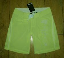 Bnwt Donna Oakley GALLEGGIANTE STRETCH Nuoto Surf Pantaloncini UK10 Midori Green