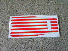 DINKY 106 PRISONER MINI MOKE  CANOPY TOP  STICKER REPLACEMENT
