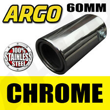 CHROME EXHAUST TAIL PIPE MINI COOPER ONE S D