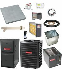 MOST COMPLETE SYSTEM 96% 60,000 btu Gas Furnace and 2 Ton 13 SEER AC & EXTRAS