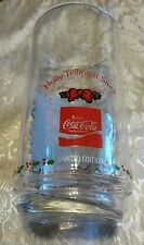 VTG 1982 LIMITED EDITION COCA-COLA HOLLY HOBBIE X-MAS HOLIDAY DRINKING GLASSS