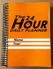 The 24 Hour Office Daily Planner Appointment Custom Schedule Book Supplies