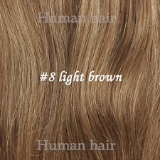 """Tengda 30"""" Thick Set Full Head One Piece Clip In Remy Human Hair Extensions 180G"""