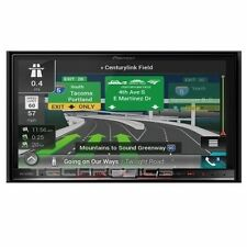 "PIONEER AVIC-8200NEX DOUBLE DIN DVD CD PLAYER NAVIGATION STEREO 7"" TOUCHSCREEN"