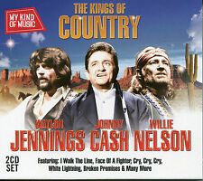MY KIND OF MUSIC THE KINGS OF COUNTRY - 2 CD BOX SET - WAYLON JENNINGS & MORE