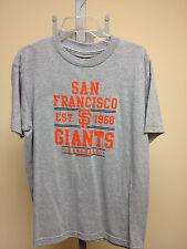 Stitches MLB San Francisco Giants Grey/Orange Tshirt Sample Youth Large