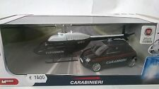 MONDO MOTORS 1:43 DIE CAST FIAT 500 + ELICOTTERO CARABINIERI  ART 57004