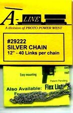 HO SCALE:  PROTO POWER WEST 29222:  SILVER CHAIN
