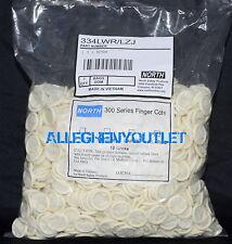 North Powdered Natural Rubber Latex Finger Cots 144 pcs. Large NIB
