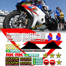 gsxr 2008 2007 ama race street bike track decal kit