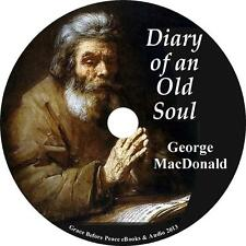 Diary of an Old Soul, George MacDonald Christian Audiobook unabridged 1 MP3 CD