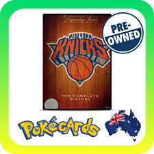 NBA DYNASTY SERIES: NEW YORK KNICKS - THE COMPLETE HISTORY (2005) PRE-OWNED