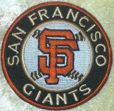 "San Francisco SF Giants Baseball 3.5"" Iron On Embroidered Patch"