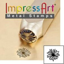 Metal stamp, punch, daisy, flower, floral, 6mm