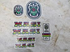 MASI BADGE DECALS ITALIAN  ROAD TOURING  BIKE BICYCLES STICKERS NOS