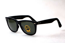 New RAY BAN ORIGINAL Wayfarer 2140 rb2140 901 Black Frame G-15 XLT lenses 54mm