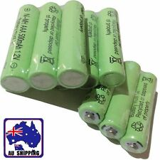 3x Rechargeable Battery Batteries Cell Ni-MH 1.2V 500mAh AAA  Green EYBA43007x3