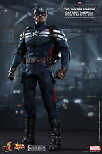 "Hot Toys 1/6 Scale 12"" Captain America Winter Soldier Stealth Strike Suit MMS242"