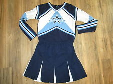 "2XL XL STARZ Cheerleader Uniform Cheer Outfit Costume 44"" Top Elastic Waist"