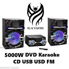 Blackmore 5000W Home Stereo Audio Video System DVD Karaoke USB FM AUX Mic BHS1