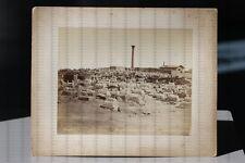 Albumin Foto Nr. 21 Felix Bonfils um 1860 Colonne Pompee Alexandrie Ägypten
