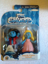 The Smurfs Grab Ems Wave 1 Smurfette and Painter Figurines