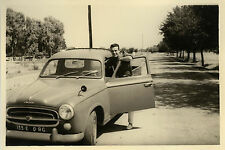 PHOTO ANCIENNE - VINTAGE SNAPSHOT - VOITURE PEUGEOT 403 PICK UP AUTOMOBILE - CAR