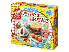 kracie popin cookin happy kitchen Japanese candy making kit Taiyaki Odango