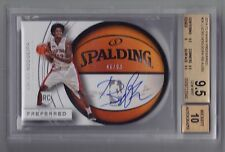 2014-15 Preferred Lucas Nogueira Roundball Auto Rc (46/99) BGS 9.5/10 - POP 1