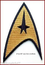 Star Trek TOS 1st and 2nd Season Starfleet Command Insignia Patch Iron sew on