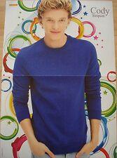 1 Poster  __  Cody Simpson  __  SIZE  28 cm x 42 cm