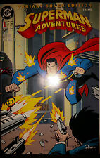 BATMAN & SUPERMAN ADVENTURES # 1 - VARIANT-COVER-EDITION - DINO VERLAG 1997  TOP