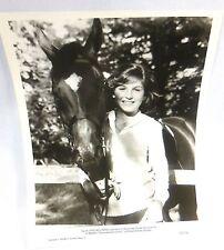 """""""International Velvet"""" 1978 Sarah (Tatum O'Neal) Horse """"Arizona Pie"""" MGM Photo"""