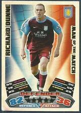 TOPPS MATCH ATTAX 2011-12- #364-MOTM-ASTON VILLA-RICHARD DUNNE