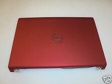 Dell Studio 1557 1558 15.6'' RED LCD Back Cover w/Power Button A03 P/N:  T210N